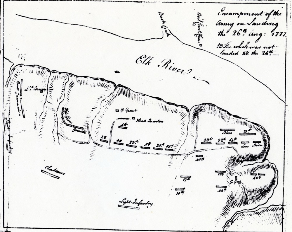 New Interpretive Map Shows Start of Philadelphia Campaign, From Head of Elk to Cooch's Bridge in Revolutionary War (2/3)