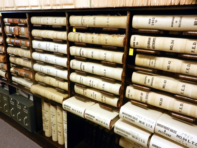 While some records in Somerset County have been digitized there are many volumes stored there that aren't on the Net.