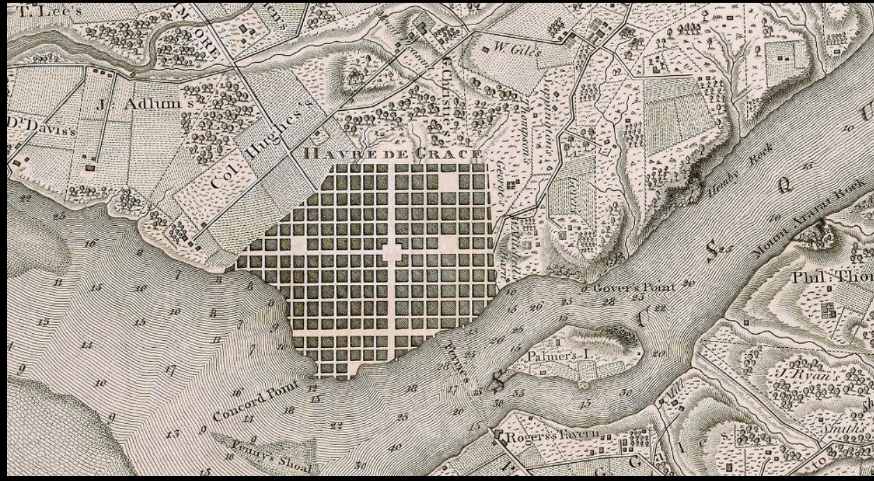 Online Historical Maps Of Harford County Reflections On Delmarvas - Buy old maps online