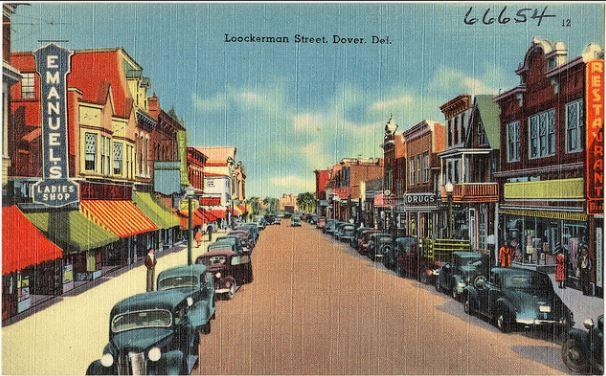 dover postcard
