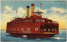 postcard - ferry