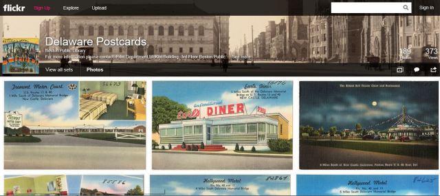 postcards delaware