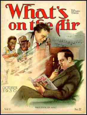 What's on the Air, a guide to radio programs from the 1930s