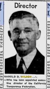 Harold D. Wilson, Source:  Sunday Star, Wilmington, DE