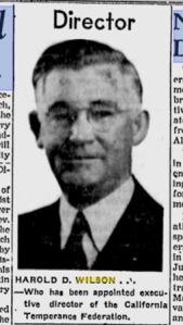 Harold D. Wilson, Source:  Sunday Star, Wilmington, DE