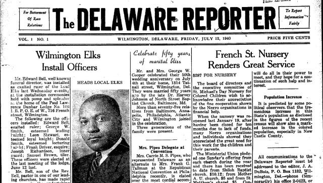 african american delaware newspaper