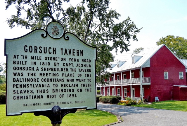 The Gorsuch Tavern and its connection to the Christiana Riot of 1851