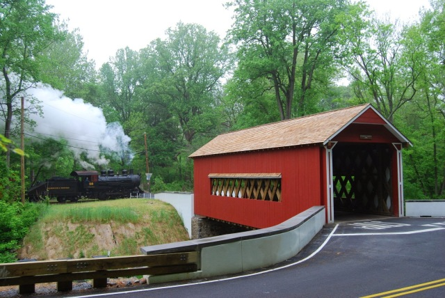 The Wooddale Covered Bridge.  Photo Credit: The Mill Creek Hundred Blog   http://mchhistory.blogspot.com/2015/02/final-red-clay-valley-history-talk.html