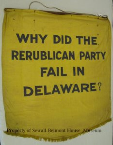 vote why did repulican party fail in de 1913