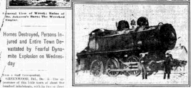 One of the Locomotives.  Source:  Philadelphia Inquirer, Dec. 4, 1903