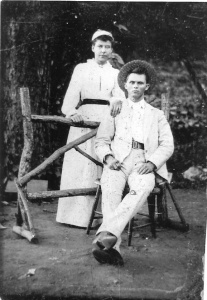Edwin and Martha Roach. source: Jane Roach Butler and Harry Roach, III, family historians