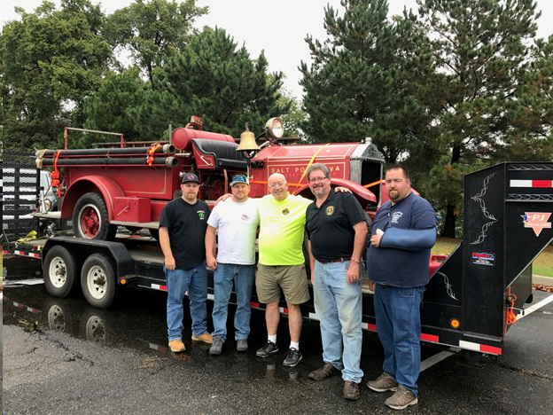 Sudlersville Fire Company Engine Returns Home.