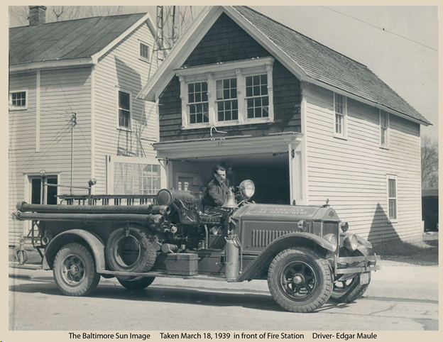 Sudlersville Volunteer Fire Company Engine 1